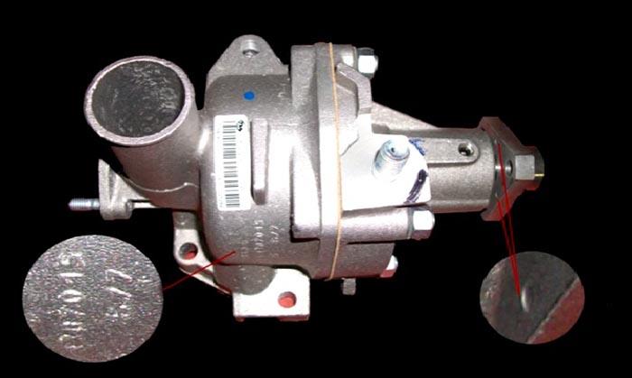 Оригинальная помпа ВАЗ 2121
