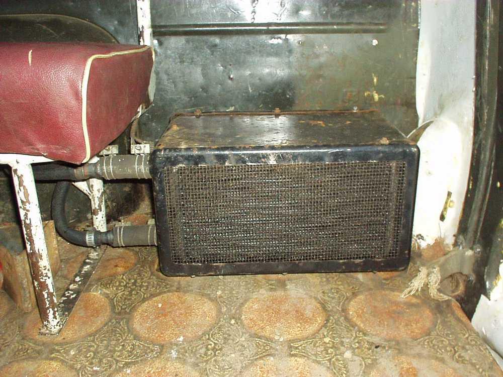 Печка КамАз