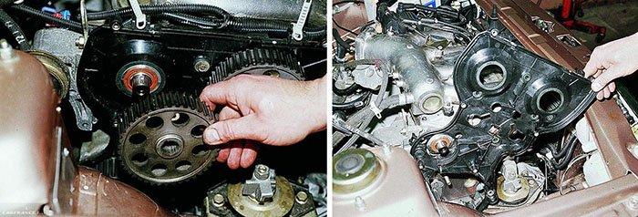 Газораспределительный механизм двигателя 16V