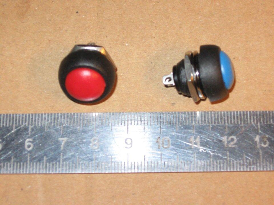Двухконтактная кнопка без фиксации
