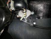 Кран печки на автомобиле