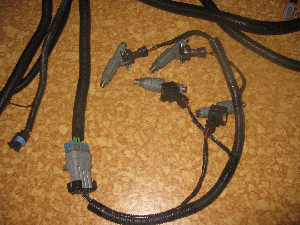 Разъём электропроводки форсунки