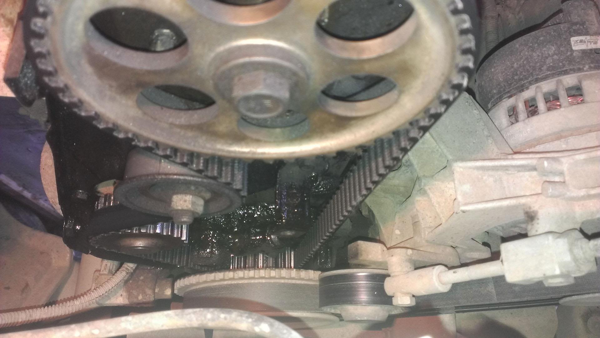 Замена помпы калина 8 клапанов своими руками