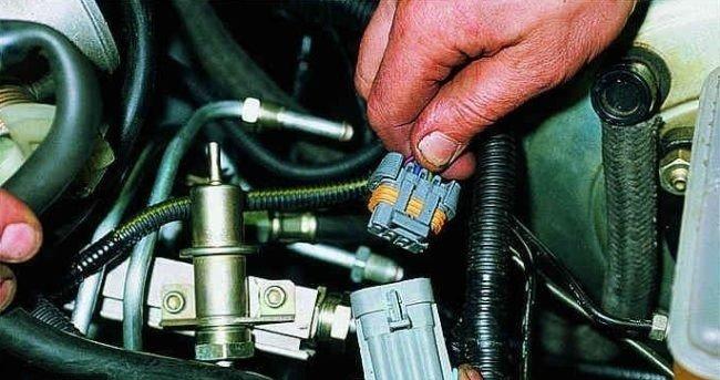 Коннектор электропроводки форсунок