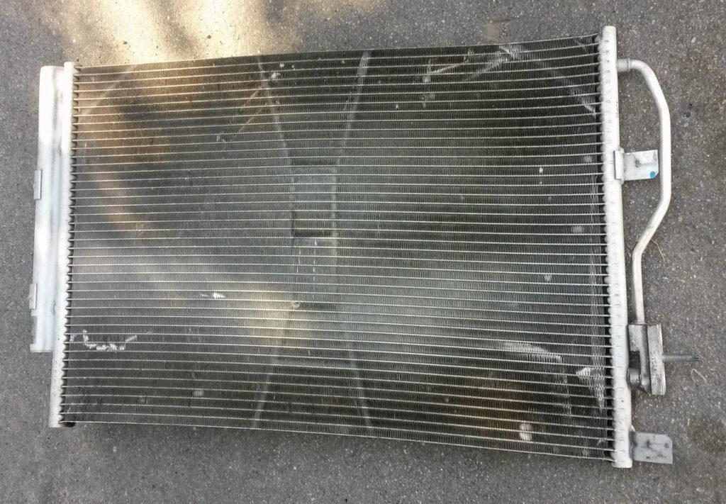 Засорение радиатора Шевроле Авео