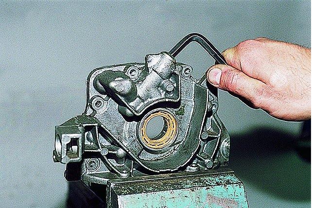 Демонтаж редукционного клапана