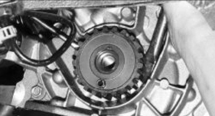 Снятие шкива с коленвала ВАЗ 2114