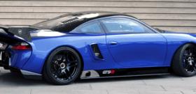 9ff GT9-R Porsche вид сбоку