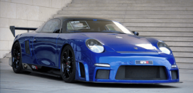 9ff GT9-R Porsche вид спереди
