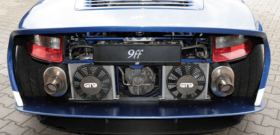 9ff GT9-R Porsche вид сзади