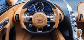 Bugatti Chiron водительское место