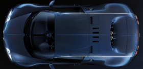 Bugatti veyron super sport вид сверху