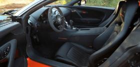 Bugatti veyron super sport внутри салона