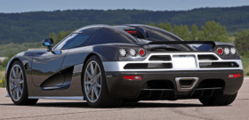 Koenigsegg CCX вид сзади