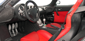 Koenigsegg CCX в салоне