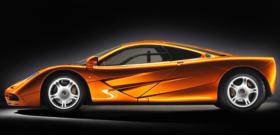 McLaren F1 вид сбоку