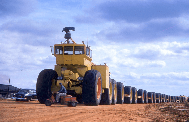 Автопоезд ТС–497