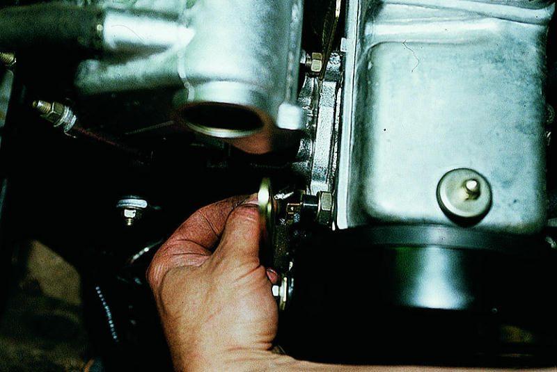 Проверка электрической цепи датчика аварийного давления масла
