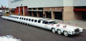 Самый длинный автомобиль в мире лимузин American Dream