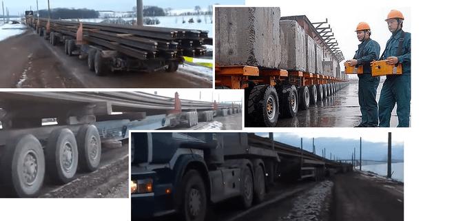 Самый длинный грузовой автомобиль из Китая