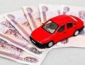 Автомобиль на денежных купюрах