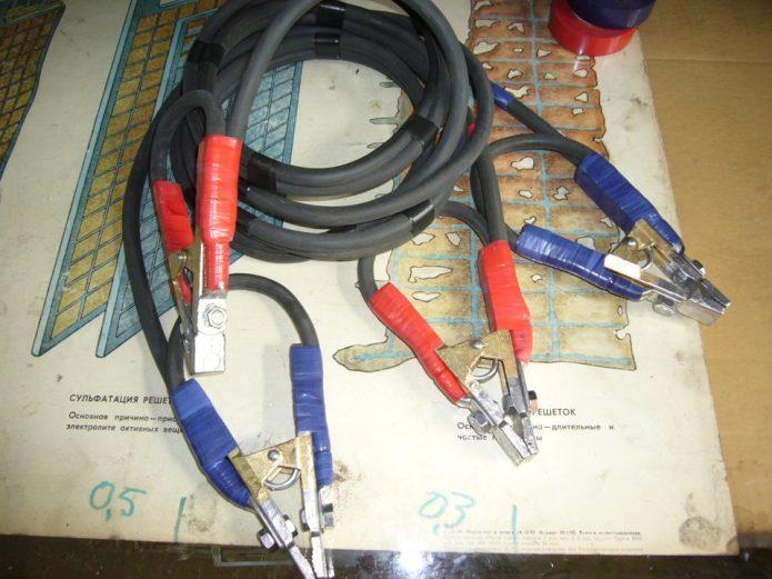 Самодельные провода для прикуривания