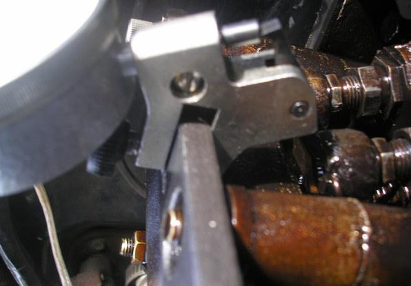 Микрометр на краю кулачка