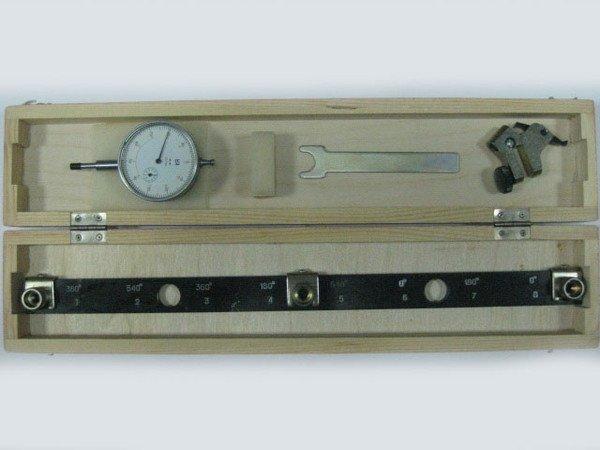 Комплект микрометра с рейкой и ключом