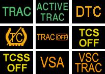 Значок dtc и tcs