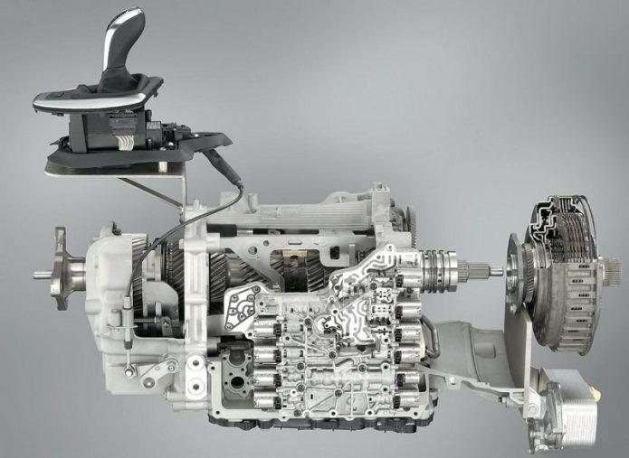 Схема роботизированной коробки передач