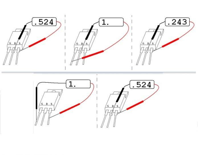 Проверка полевых транзисторов