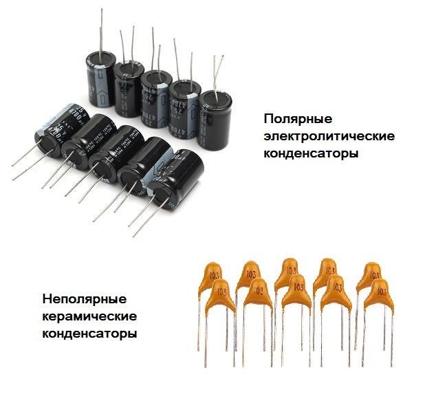 Разнообразие конденсаторов