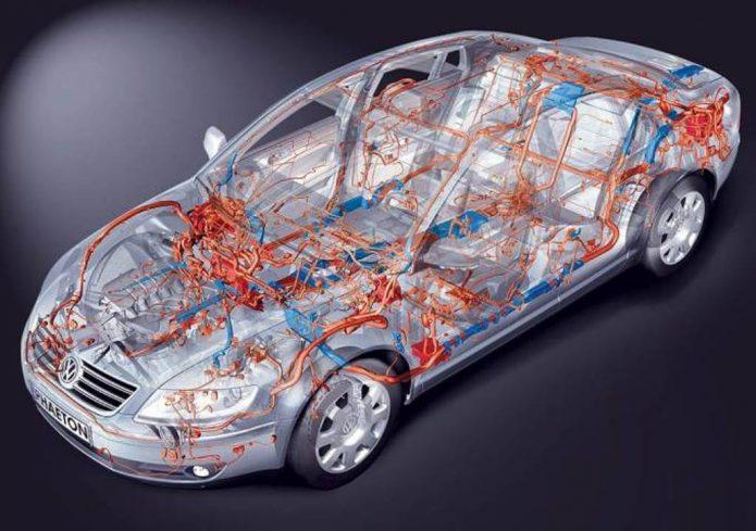 Электрическая система автомобиля