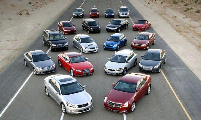 Разнообразие автомобилей