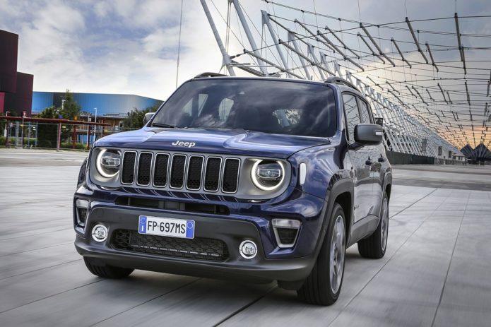 Уникальный Jeep Renegade PHEV