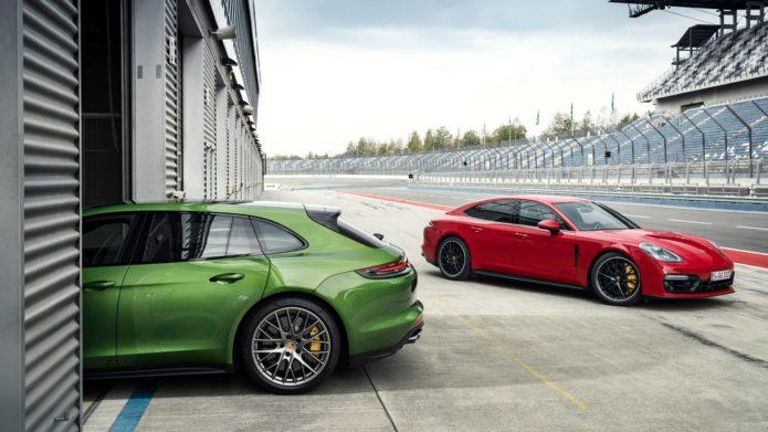 Porsche Panamera GTS в заряженной модификации