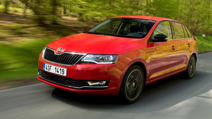 Новый Skoda Rapid Spaceback