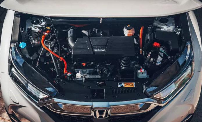 Гибридный двигатель Honda CR-V