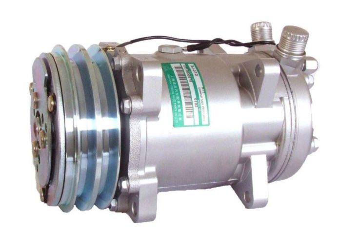 Общий вид компрессора кондиционера