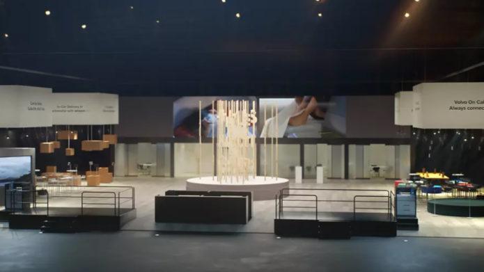 Выставочный стенд Volvo