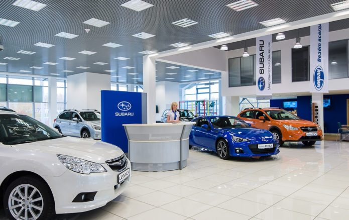 Автосалон Subaru