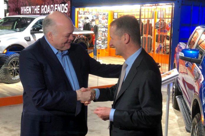 Создание альянса Ford и WV