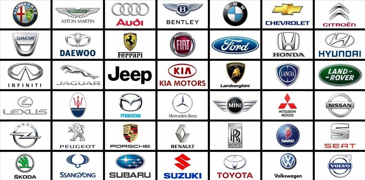 нормальные марки машины значки и названия на русском картинки автомобилем