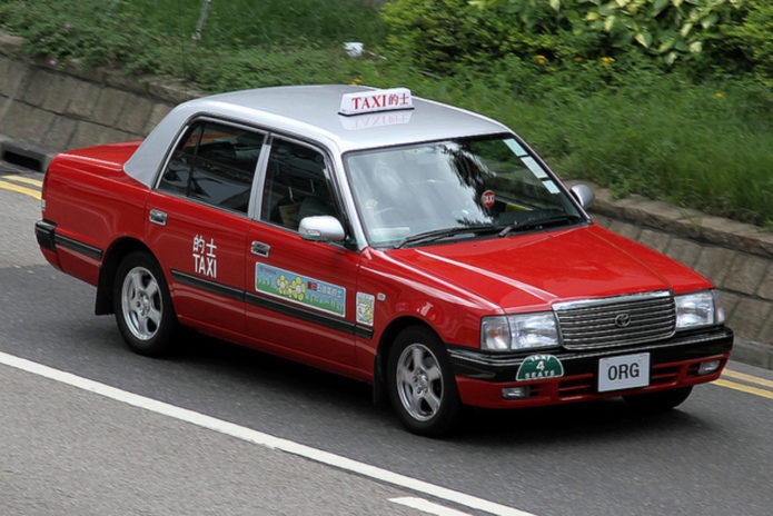 Красное такси