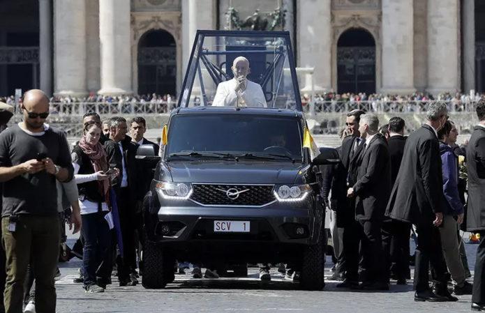 УАЗ Пикап для Папы