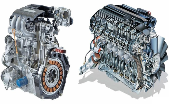 Типы двигателей BMW