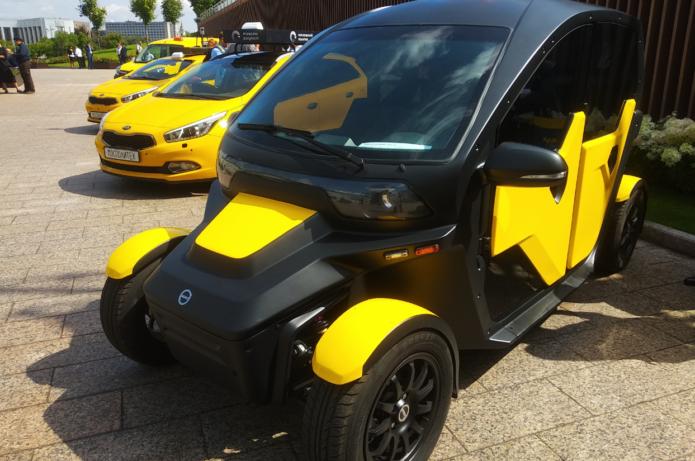 электрический автомобиль UV-4
