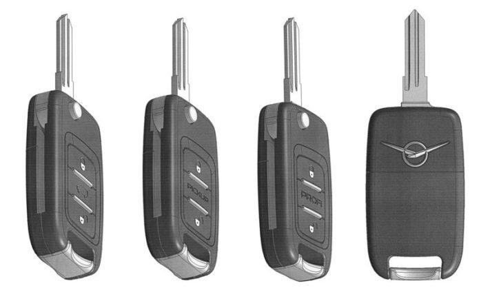 новые ключи для УАЗа
