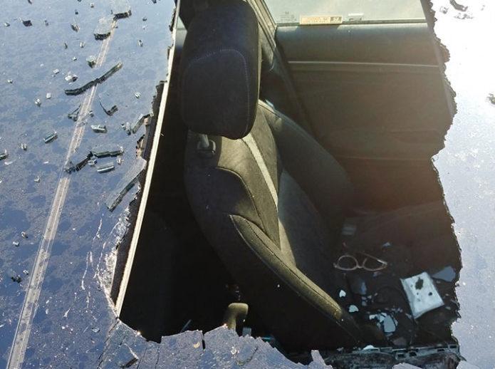 взрыв в машине