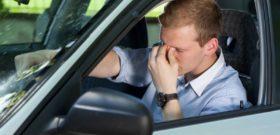 Как длительное пребывание за рулём вредит зрению водителя